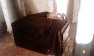 Самодельная радиаторная пушка для обогрева гаража от печи