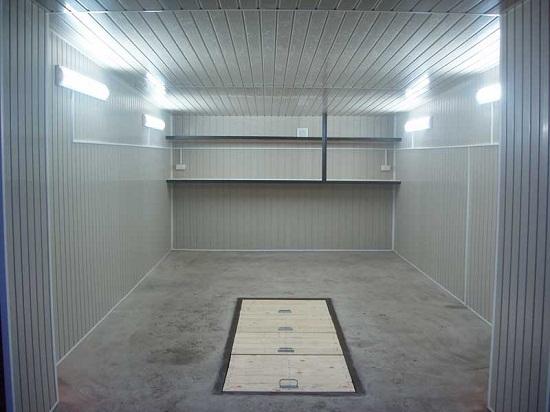 Дешевый каркасный гараж