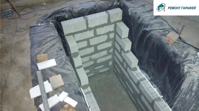 Cмотровая яма в гараже