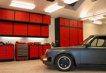 Обустройство домашнего гаража