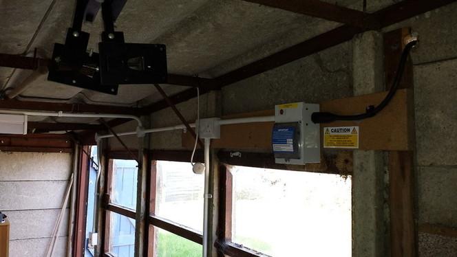 Монтаж электропроводки в гараже