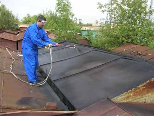 Картинки по запросу Крыша гаража гидроизоляция